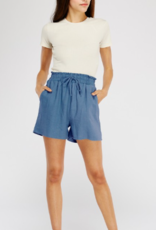 Two Hearts linen shorts