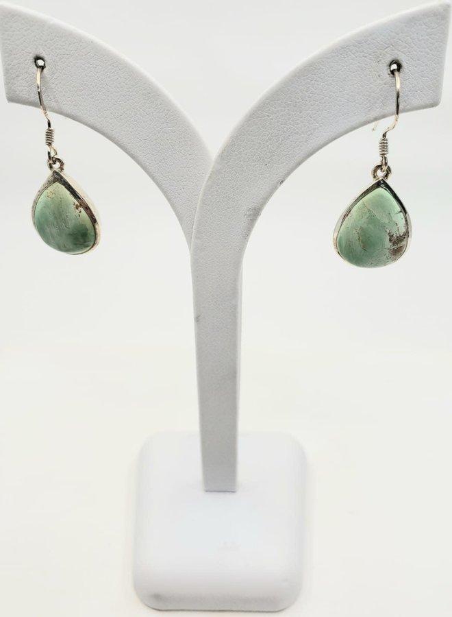 variscite earrings