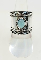 chalcedony ring size 7.5