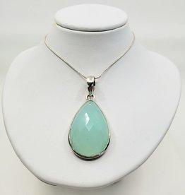 chalcedony pendant