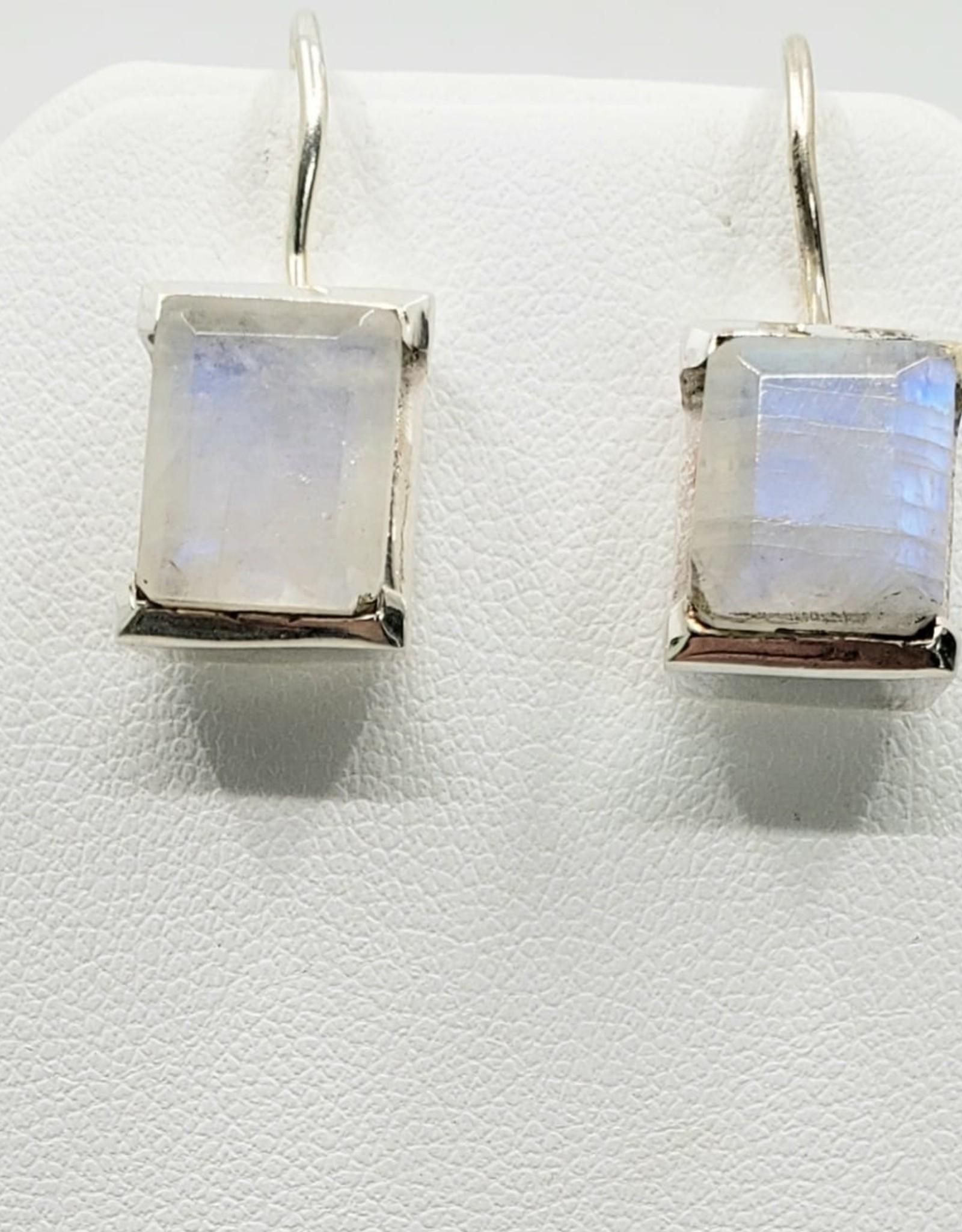 cut moonstone earrings