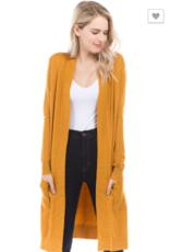 Cielo long  cardigan with pockets