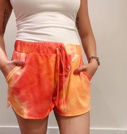 CY Fashion tie-dye shorts