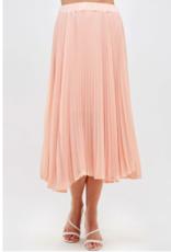 Westmoon pleated lined midi skirt