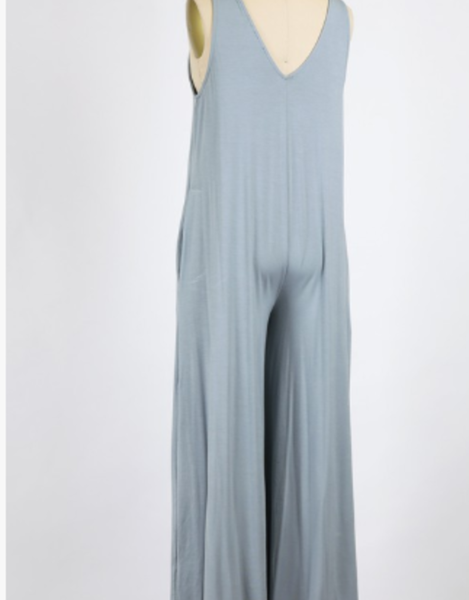 Final Touch rayon modal wide-leg jumpsuit