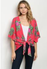 fuchsia kimono