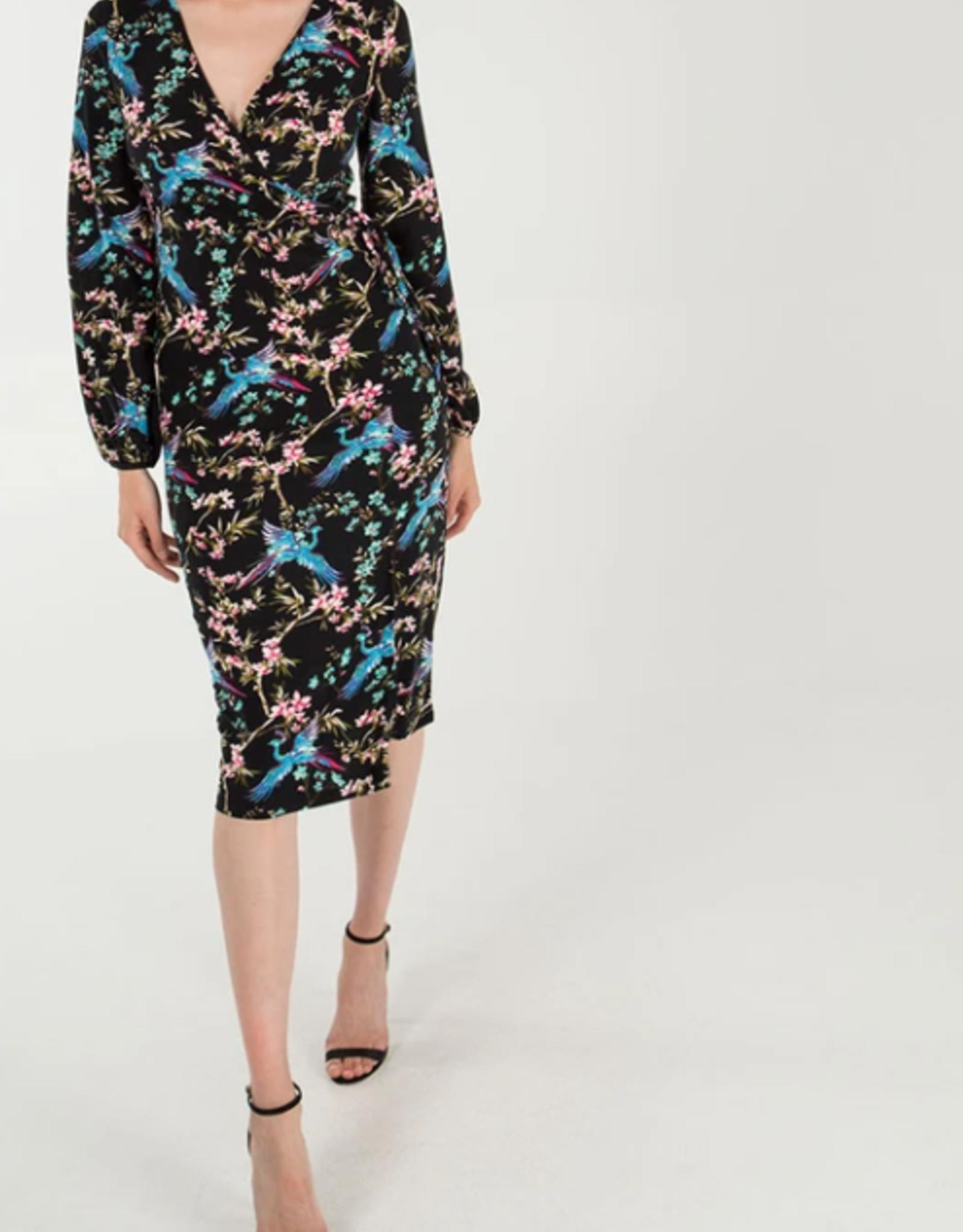 Nova London wrap chinoise dress