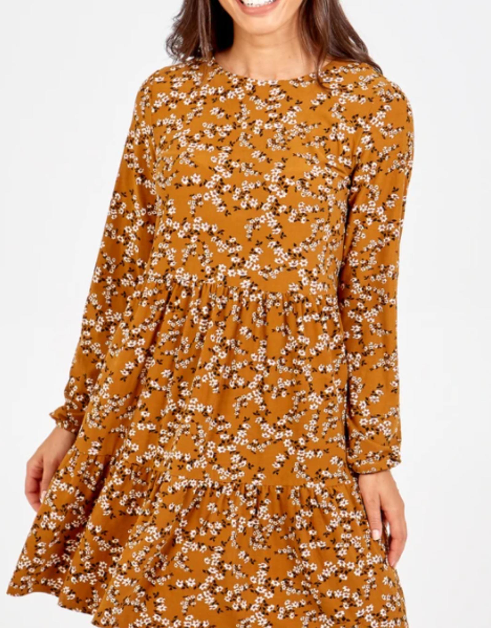 tiered tunic dress