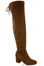 drawstring tie tall boot