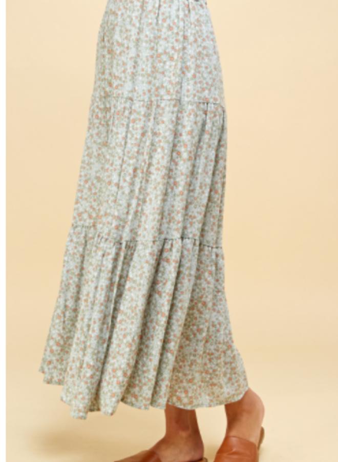 flowy maxi skirt