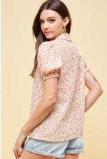 Les Amis printed blouse