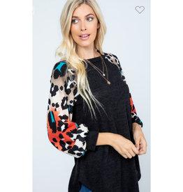 P & Rose mirr sweater animal print