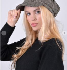 Nollia newsboy beret taupe