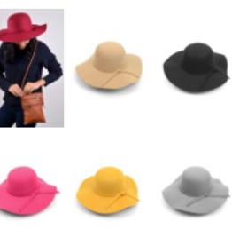 Nollia floppy hat