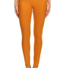 LA 12th Street leggings mustard