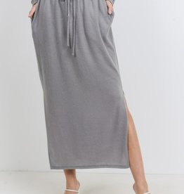 Cherish brushed knit skirt