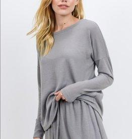 Cherish brushed knit top