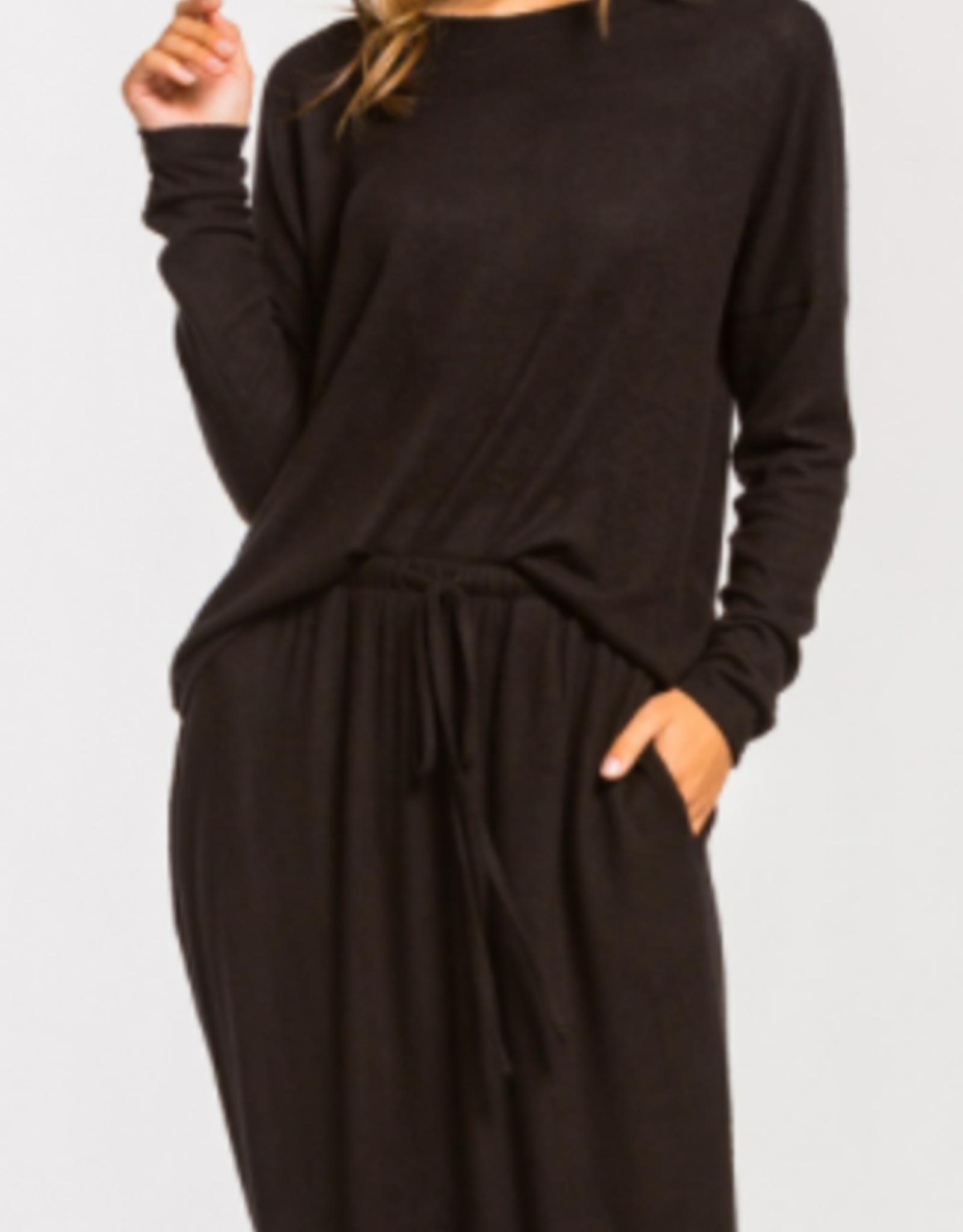 Cherish brushed knit skirt