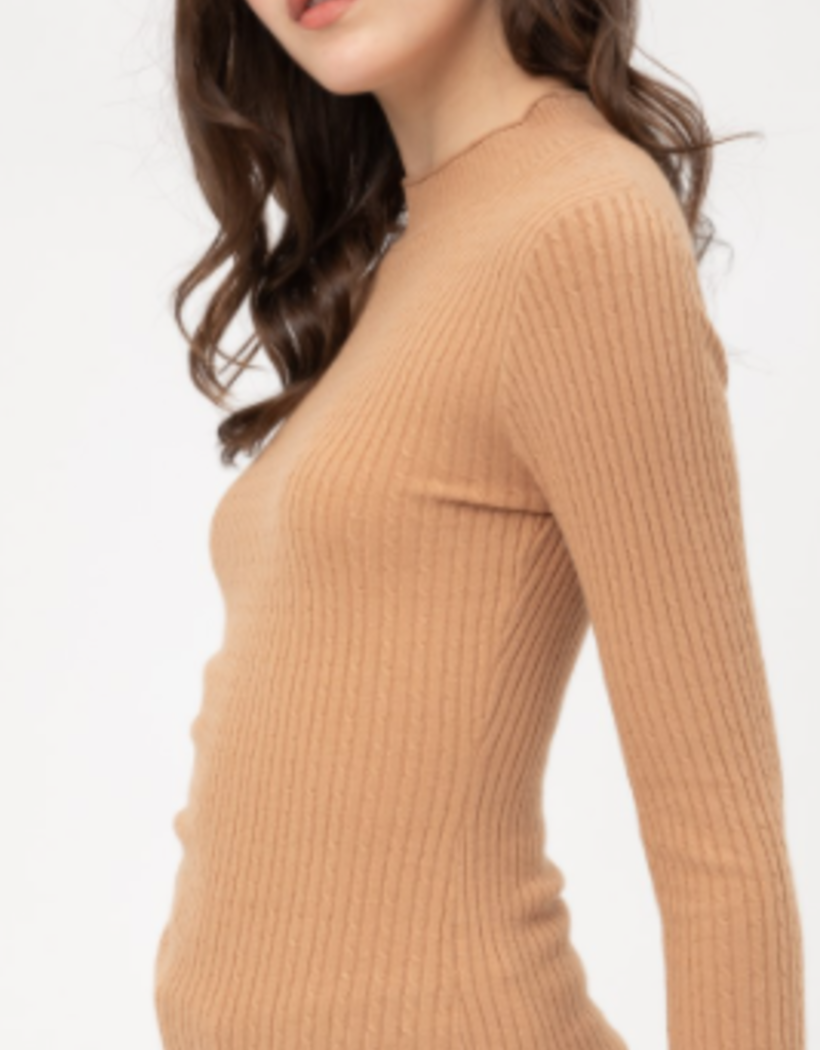 Love Tree ribbed sweater