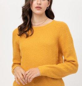 Love Tree tweed basic sweater
