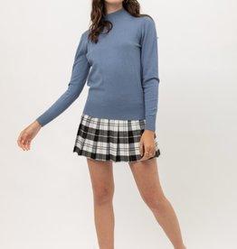 Love Tree high neck basic sweater