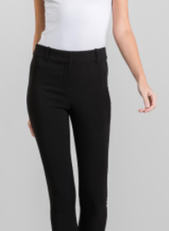black twill trouser pants