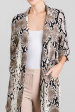 Must Have grey snake print jacket