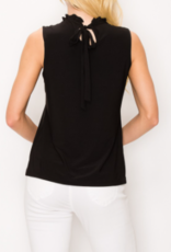 Perception pearl neckline top