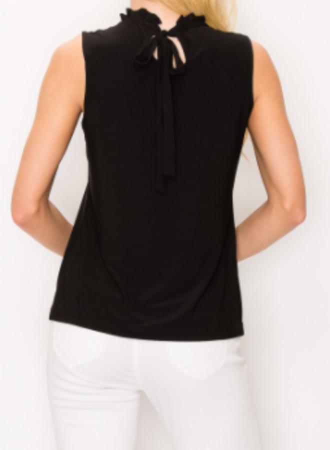 pearl neckline top