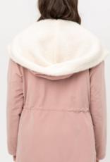 Love Tree sherpa hoodie jaclet
