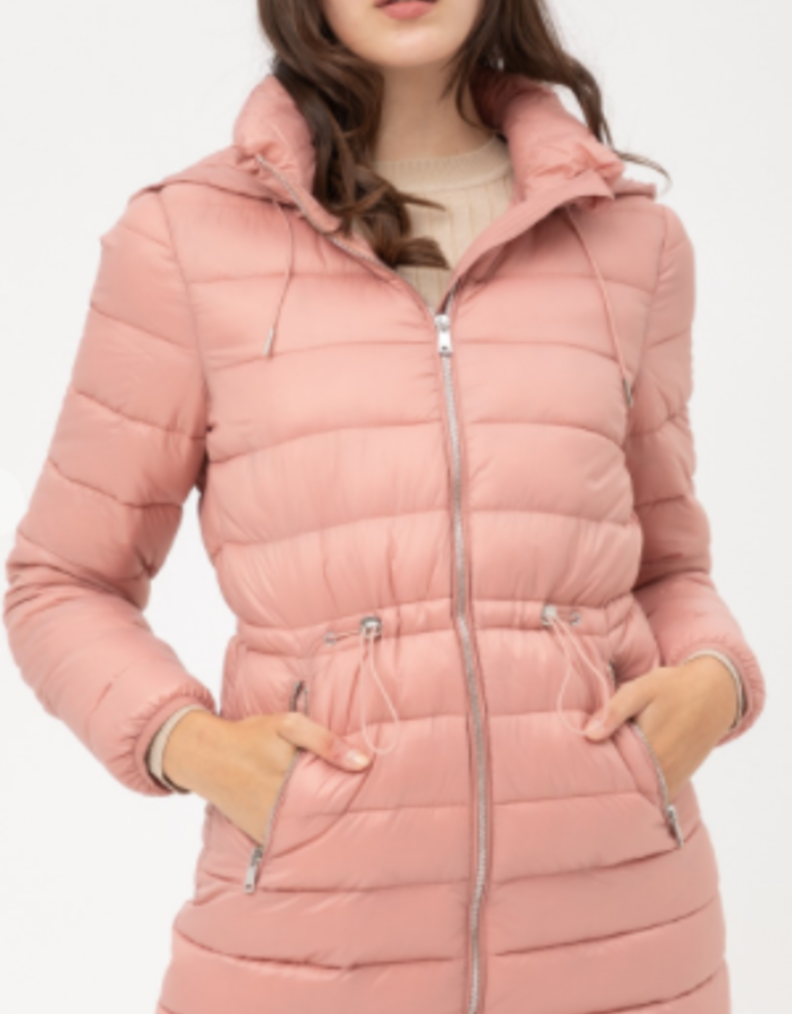Love Tree puff jacket with hood