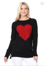 Mak heart sweater