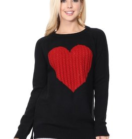 Mak heart sweater