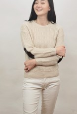 Mak sweater with elbow patch