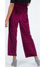 pleat palazzo trousers