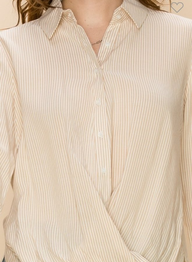 button down work shirt