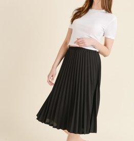 Les Amis pleated skirt
