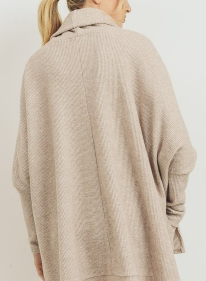 brushed thermal top