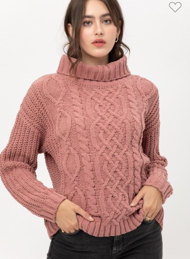 turtleneck sweater