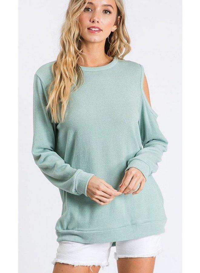 cold shoulder top