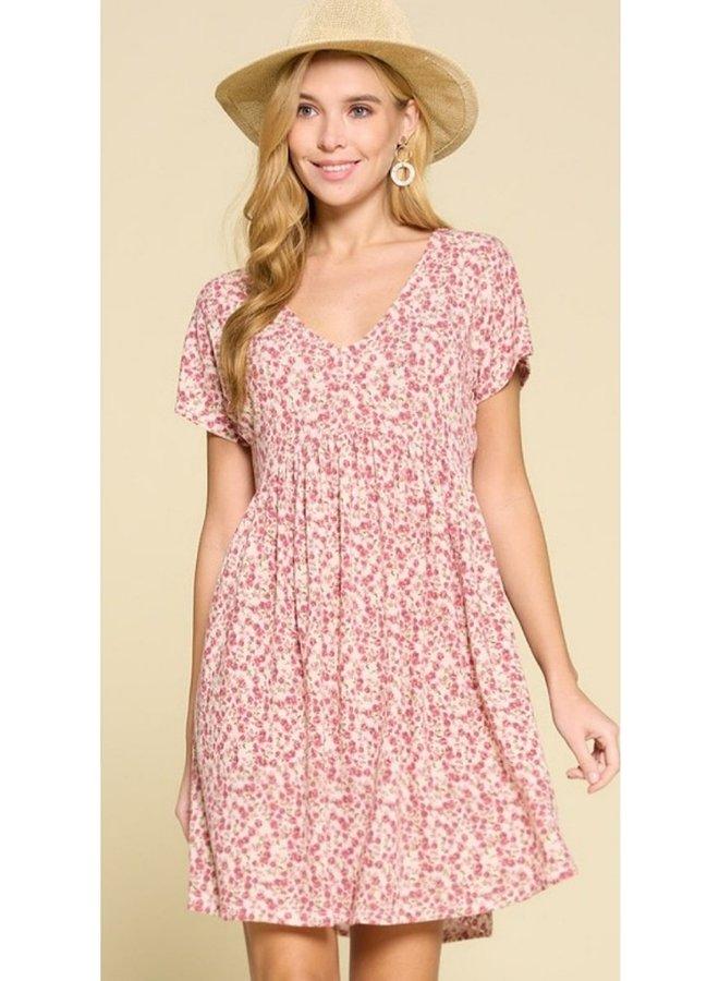 scoop neck swing dress