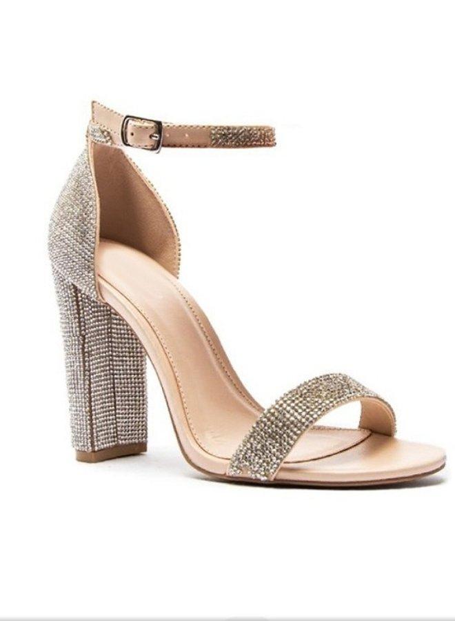 rhinestone heels