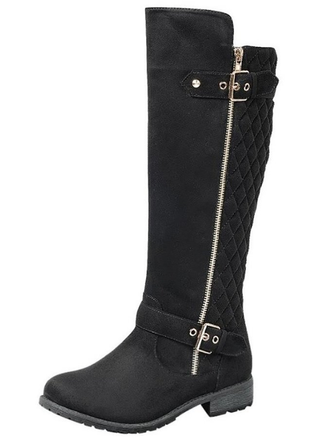 mid calf boot