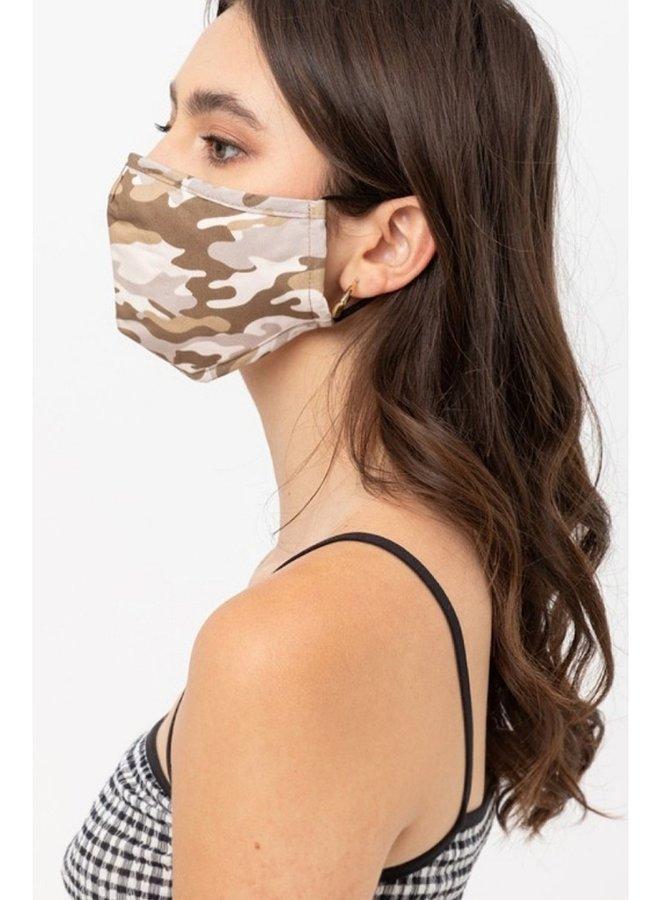 camo mask khaki