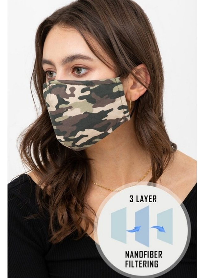 camo mask olive