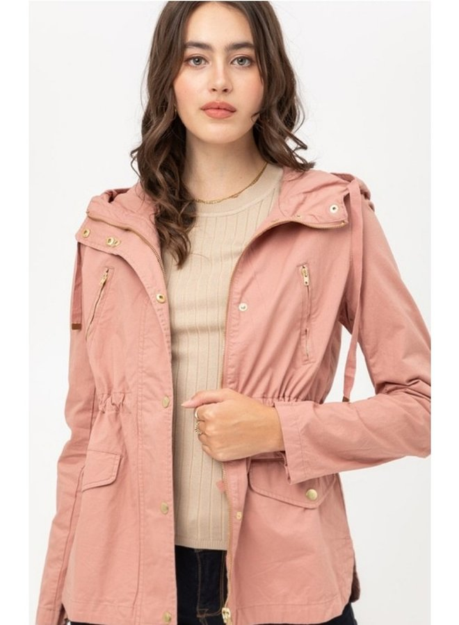 Utility Jacket with hood
