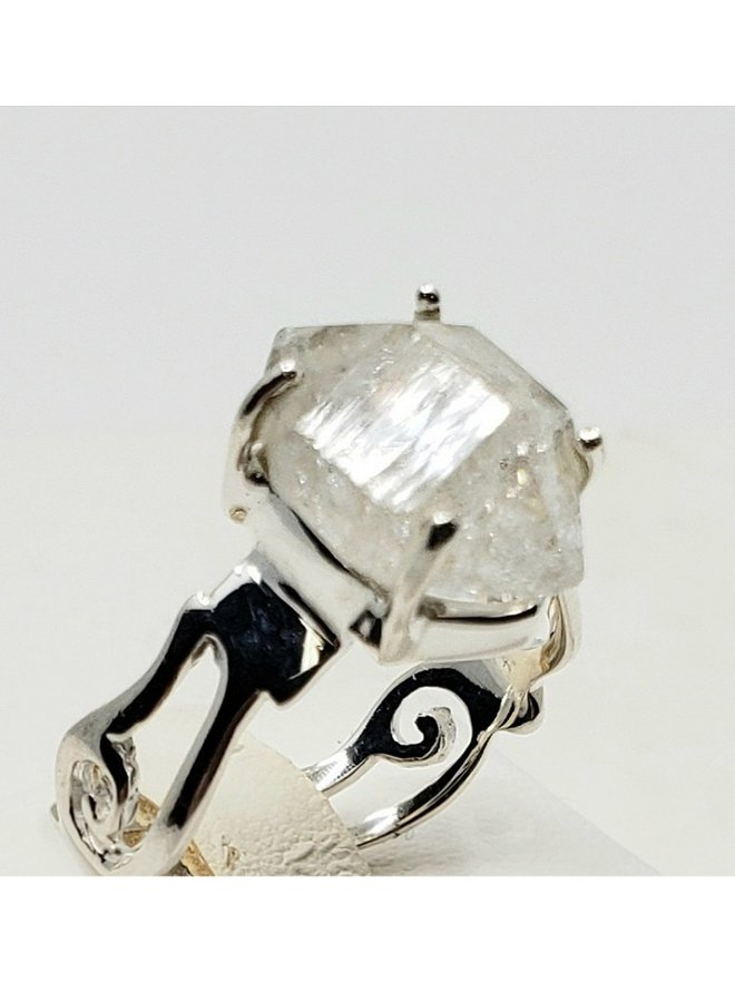 Herkimer diamond ring size 8