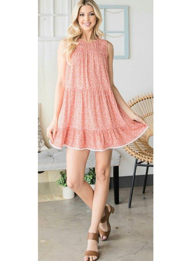 floral mini dress
