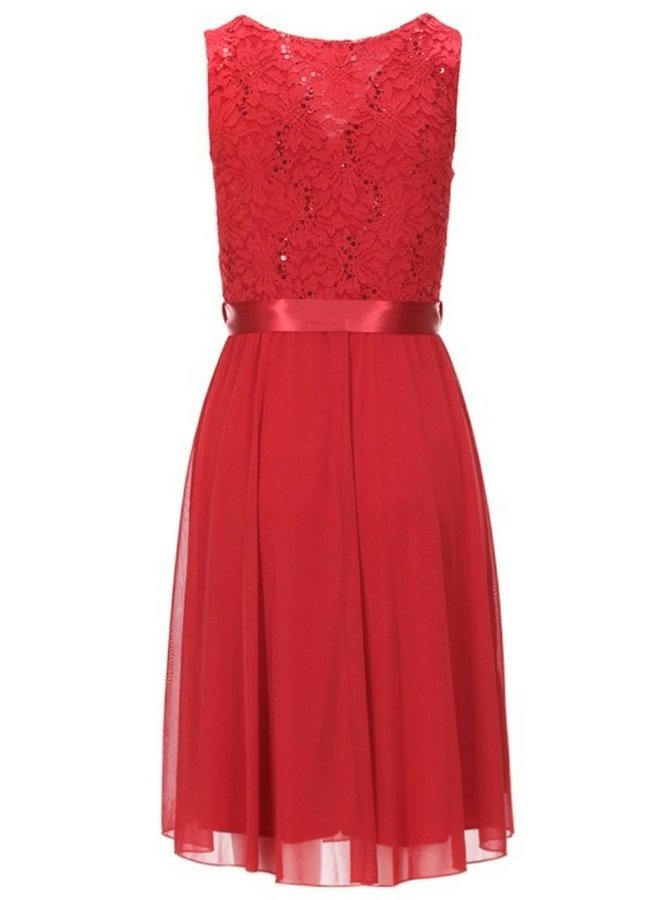 lace dress with sequins