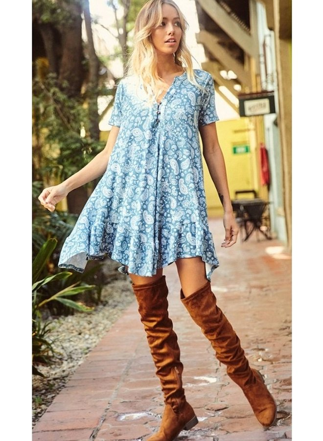 Flowy swing dress